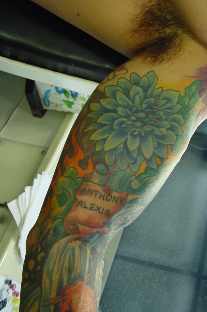 Oriental sleeve