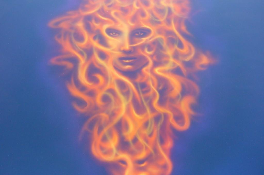 JP's flaming female