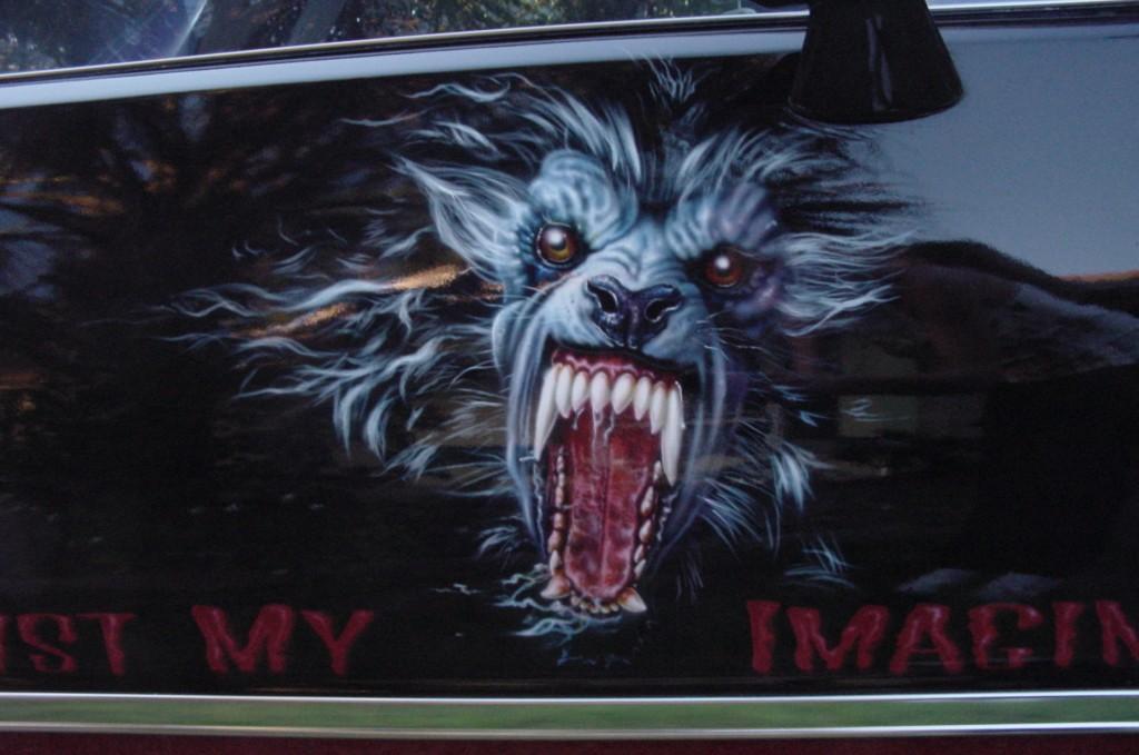 werewolf door