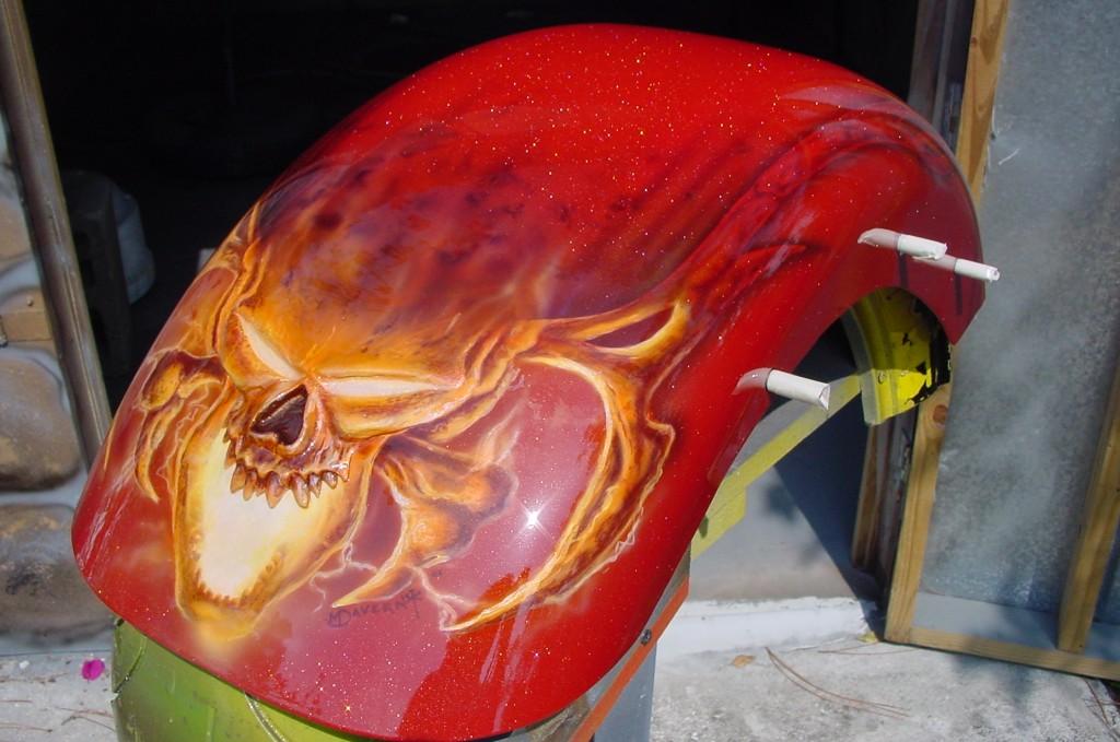 molded skull fender 2