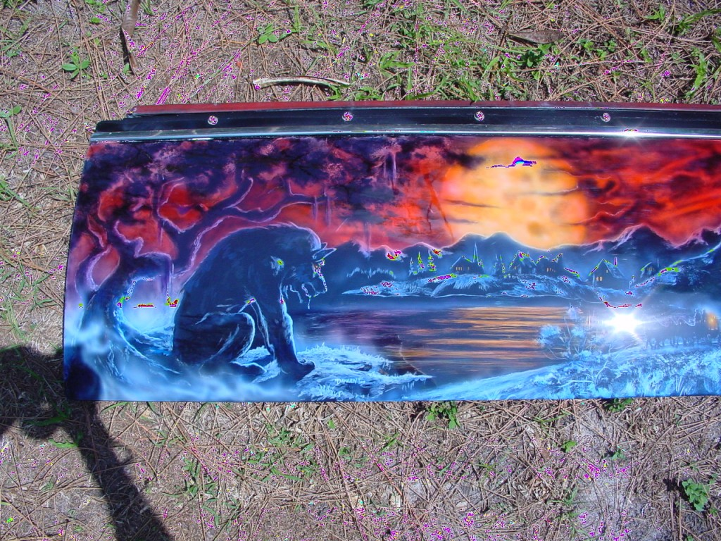 werewolf tailgate