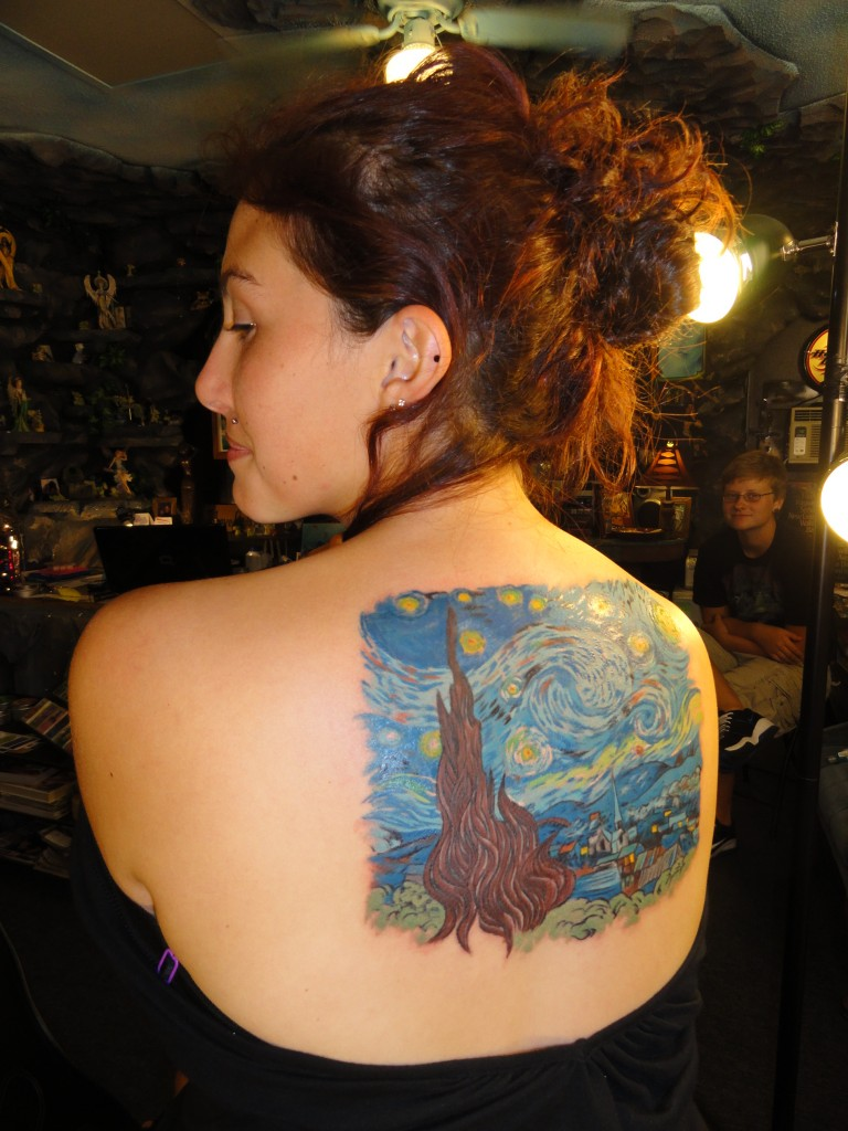 Starry Night tattoo