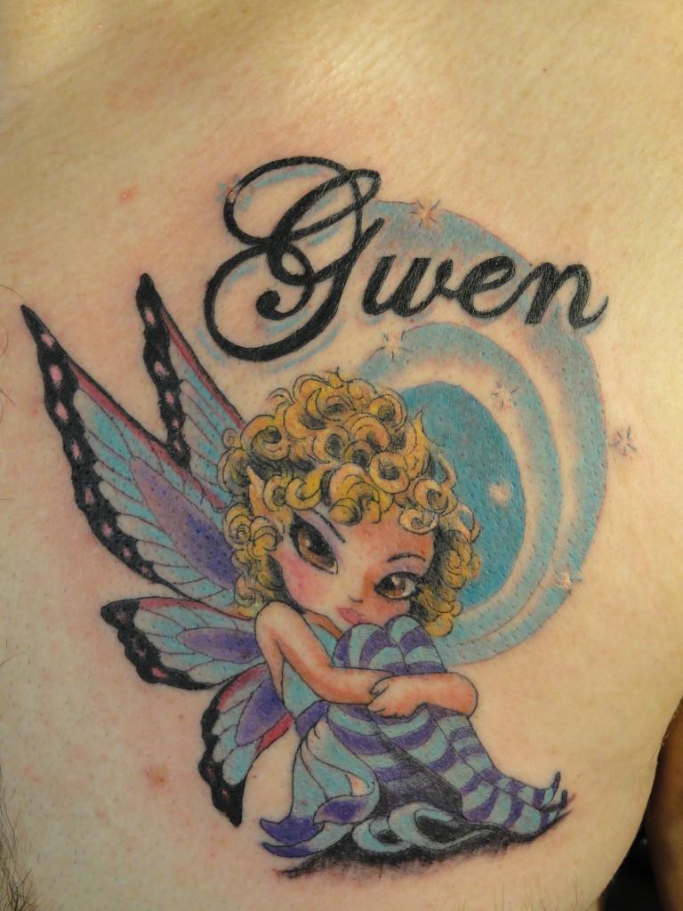 Gwen, pixie