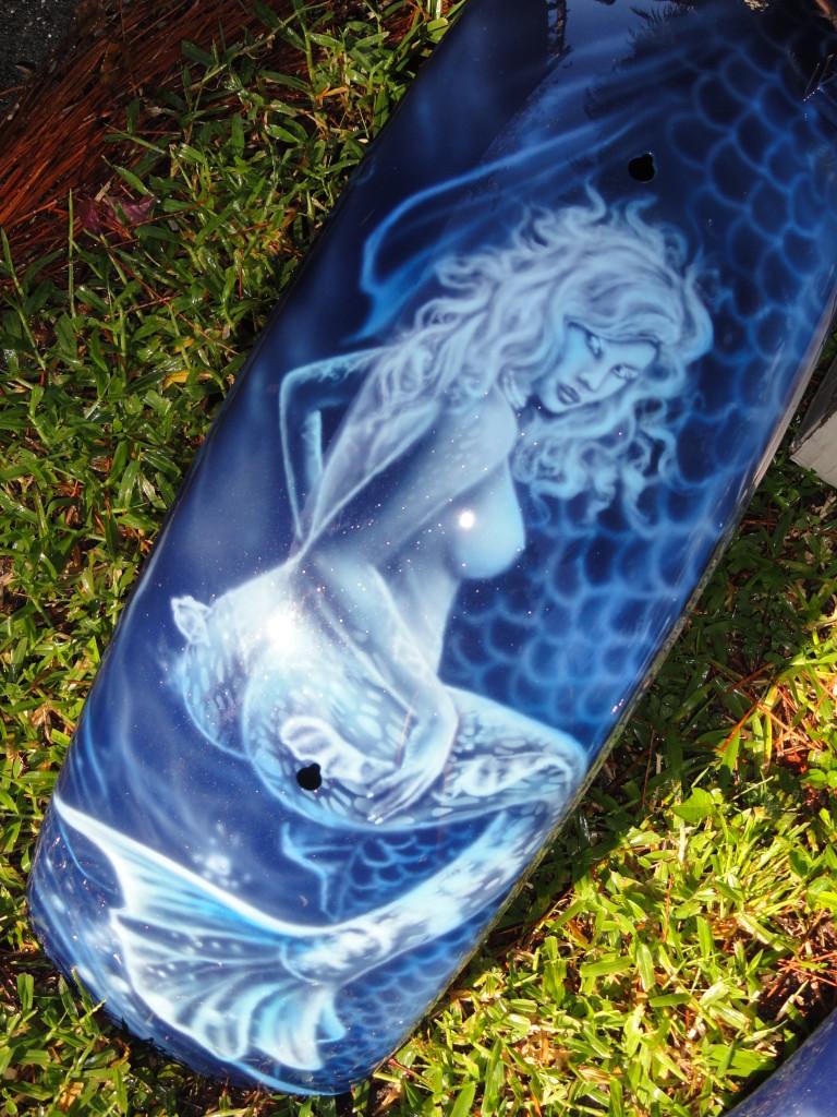rear fender mermaid