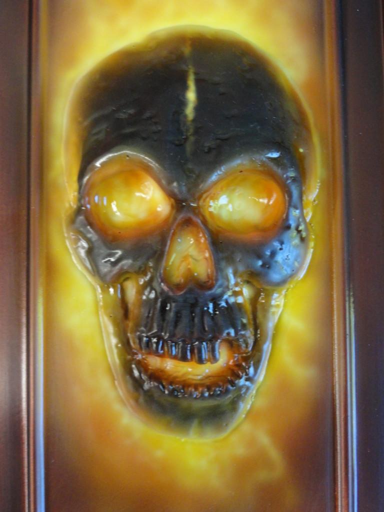 3D skull dash