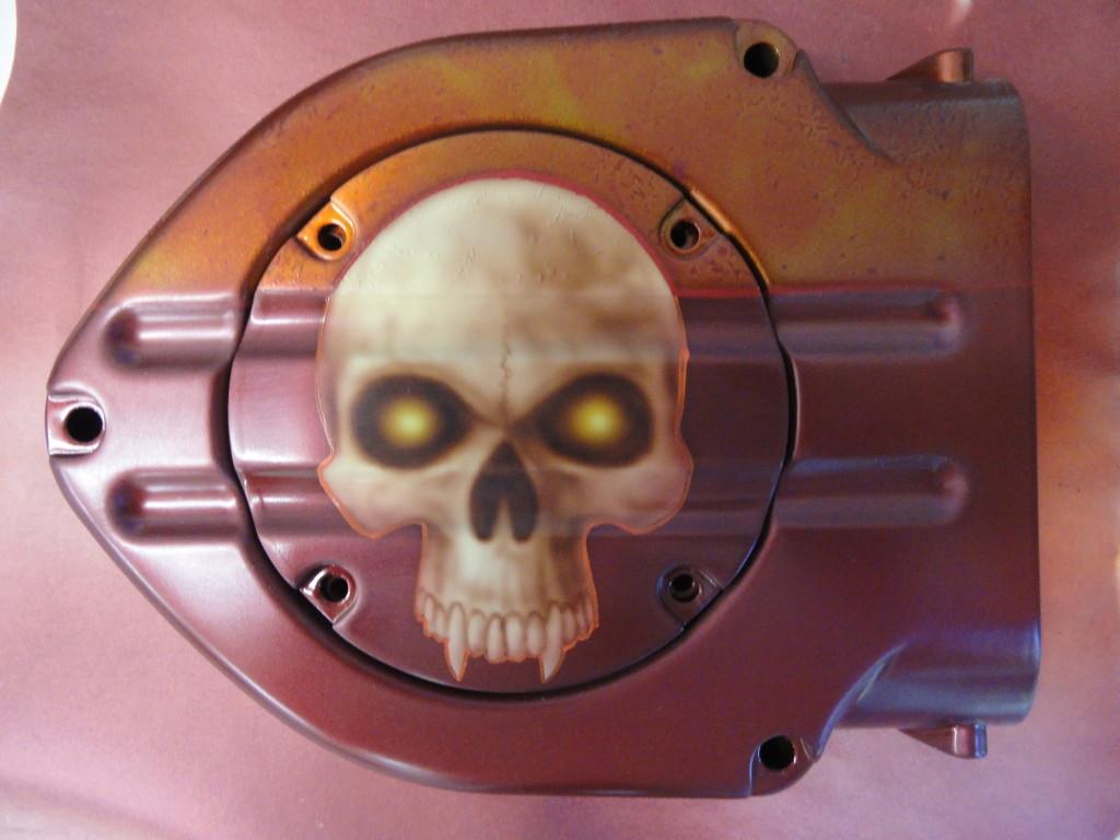 Skull air cleaner