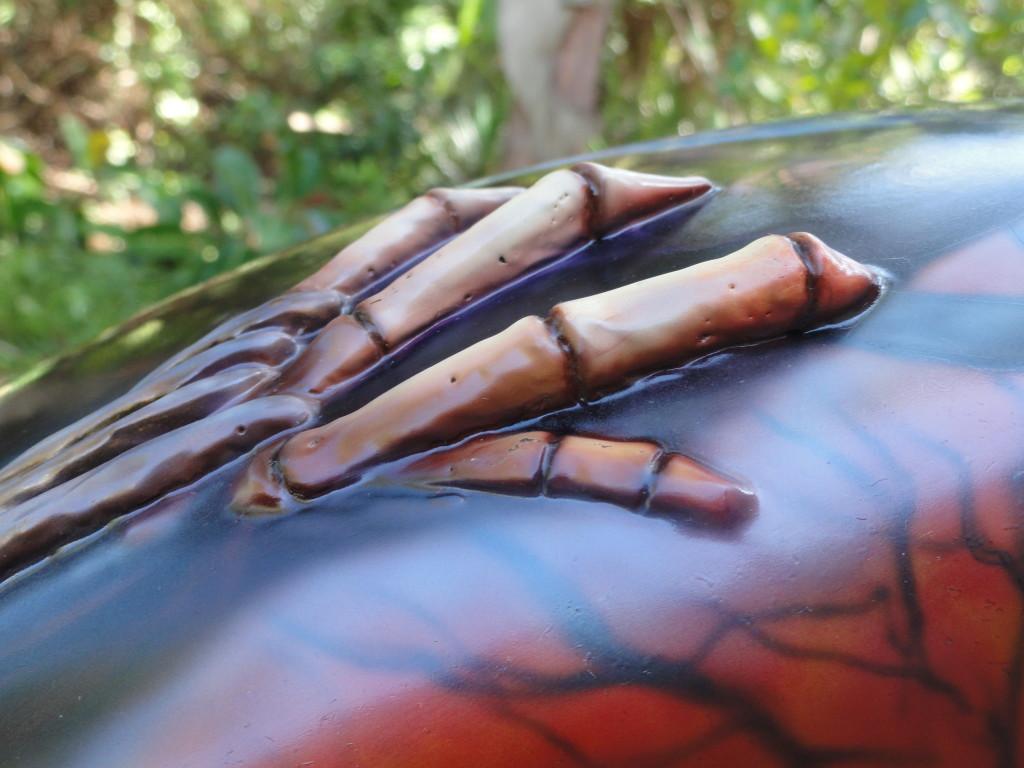 Grim reapers hand