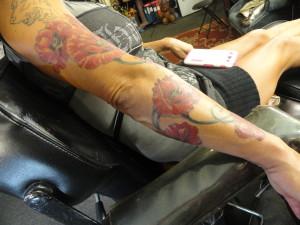 Poppy sleeve