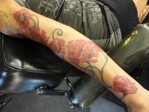 Poppy sleeve 2