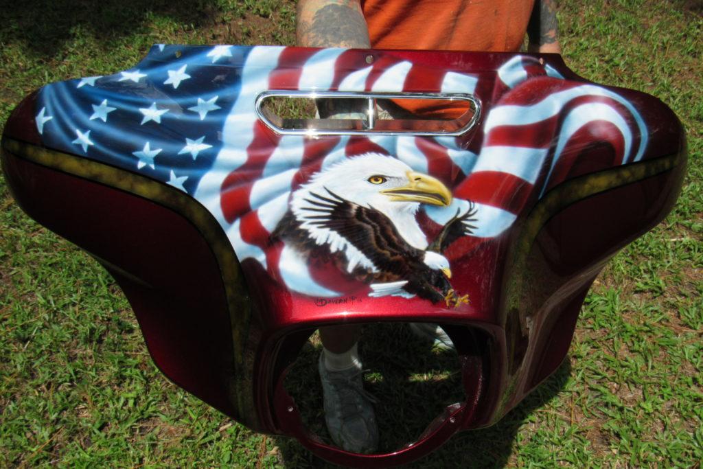 Patriotic fairing