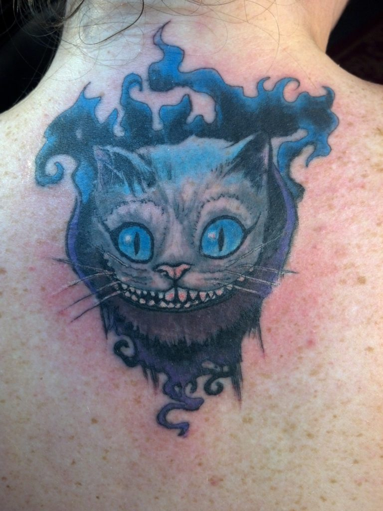 Smoky Cheshire cat