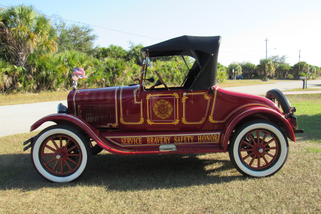 Fire Chief car 2